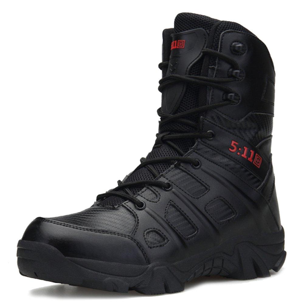 MERRYHE Lace up Militär Kampfstiefel Männer Sicherheit Special Forces Stiefel Taktische Polizei Stiefel Camping Wandern Klettern Schuhe