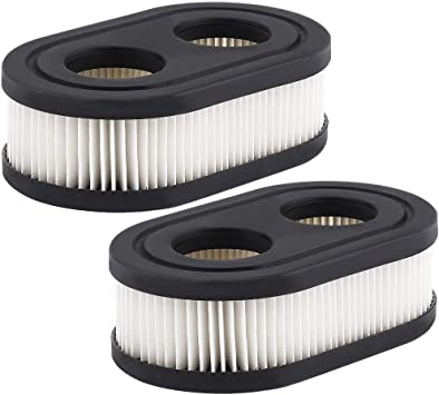 Premium Quality Lawn Mower Air Filter For Briggs /& Stratton Replacement 798452 593260 5432 5432K Black fast-shop