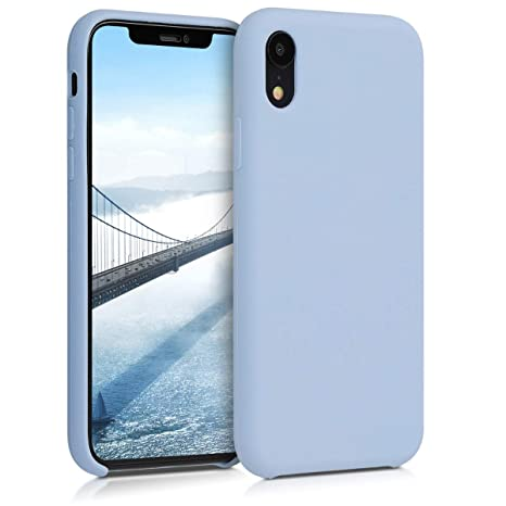 coque apple bleu iphone xr