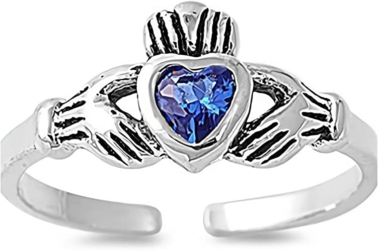 Glitzs Jewels 925 Sterling Silver Ring Linked Rope Cute Jewelry Gift for Women in Gift Box