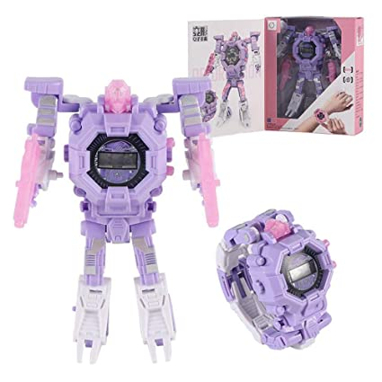 Halloween Wikikids.Amazon Com Layopo Transformer Toy Robot Watch Upgraded