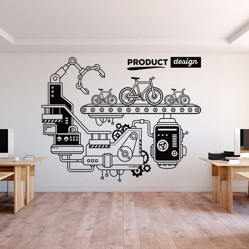 zhuziji Decoración de Oficina extraíble Art Wall Decal Office ...