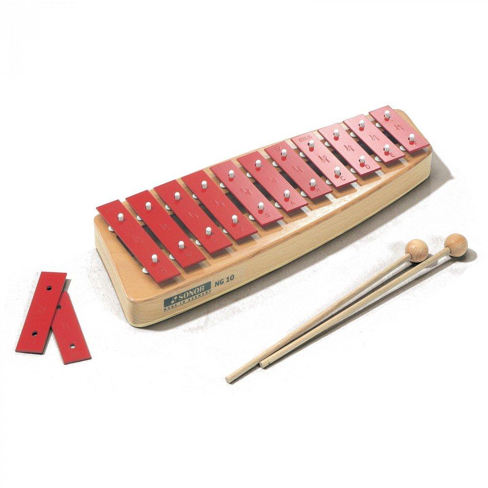 Sonor 28511001 - NG 10 Sopran Glockenspiel Musik