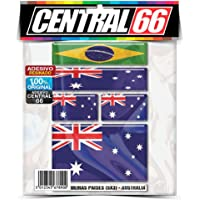 Kit Adesivos Bandeiras Australia Resinado