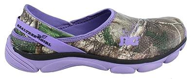 c7b8f1e52e1e6 Amazon.com | Realtree Outfitters Women's Lola Slip On Shoes Purple ...