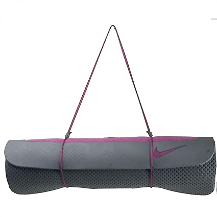 Amazon.com: Nike Ultimate Pilates Mat (8 mm, Mulberry ...