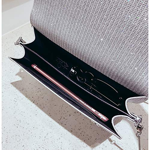 Femmes Blushing Tout à Grande Pinktote À Capacité Sacs Fourre sac Pour À main Sac H Zipper Sacs Pu Body Main QZTG Cross Classic Silver Bandoulière X71qx5Cww