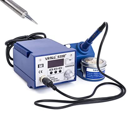 YIHUA 939d + Digital Profesional Soldadura 75 W PID regulador 3 teclas de marcación rápida ESD