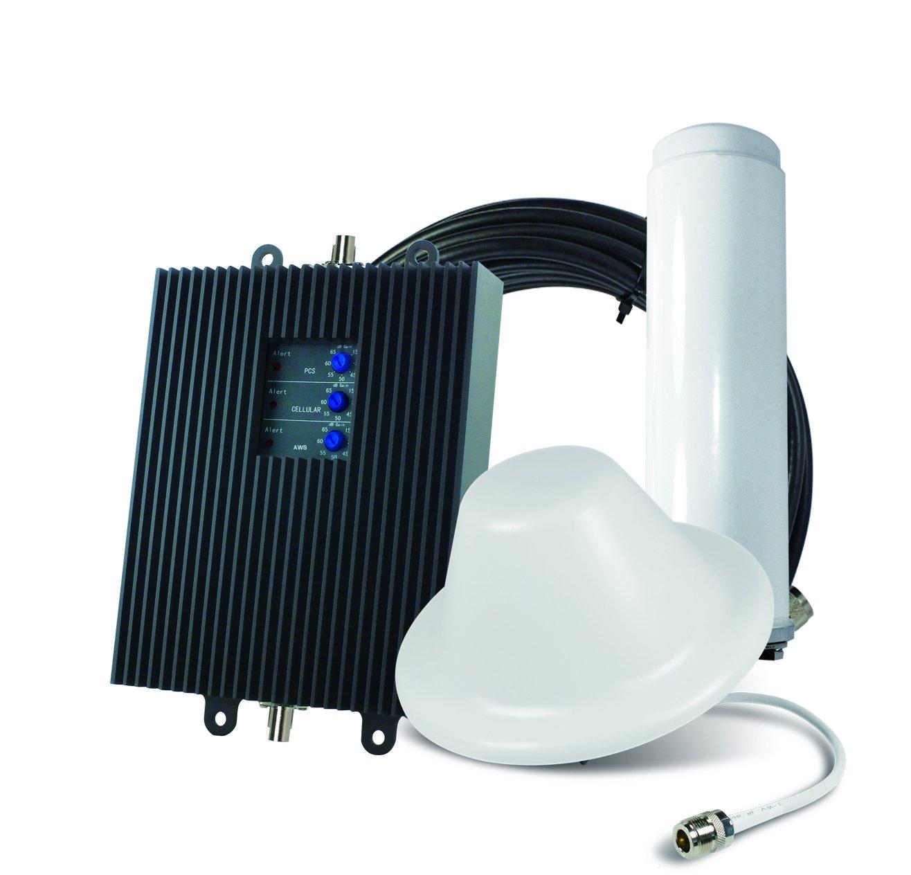 SureCall TriFlex-V Verizon 4G Cell Phone Signal Booster w/ Omni & Dome Antennas   SC-TriVH/O-72-OD-KIT