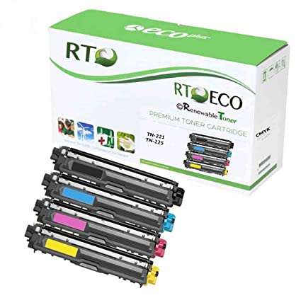 3pk TN221 221 Color Toner Cartridge for Brother HL 3140 3170 3180