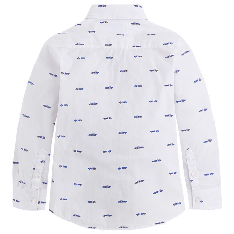 blau Mayoral Jungen festliches Hemd Langarm Slim Fit