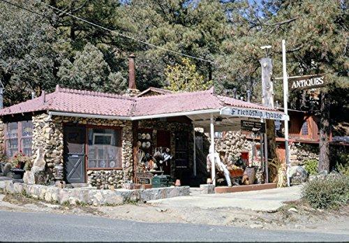 Roadside America Photo Collection | 1991 Friendship House Antiques (Gas Station), Prescott, Arizona | Photographer: John Margolies | Historic Photographic Print 30in x 24in