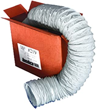 Vinyl Duct Hose White 6 Inch X 50 Ft Amazon Com