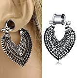 TIANCIFBYJS 3 Pair 00g Earring Gauges Tunnels Dangle Ear Plugs Stretching Kit Piercing Plugs 2G-0G Eyelet (8mm=0g)