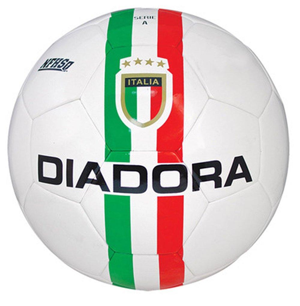 Diadora fútbol Serie a II Match Balón de fútbol, Unisex, White ...