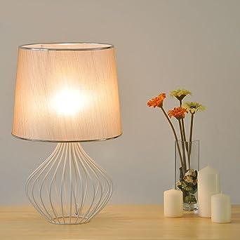 Lámpara de jaula de hierro forjado de aves decorativa creativa ...