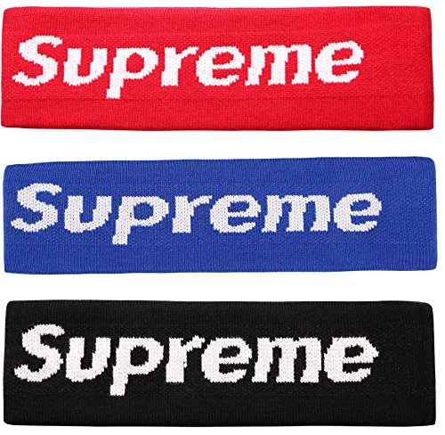 Sportula Supreme Headband Cotton Headbands Sports Head Hair Fleece Headband - 3 Pack