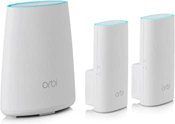 Netgear Orbi RBK33 Home WiFi System with Router & 2 Wall Plugs