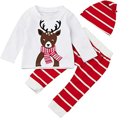 Baby Animal REINDEER Romper Xmas Outfit Christmas Fancy Dress Costume 0-6m