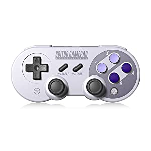 8Bitdo SN30 Pro,Wireless Bluetooth Controller with Classic Joystick Gamepad for PC,Android,Windows,macOS,Steam - Nintendo Switch (SN30 Pro) (Color: SN30 Pro, Tamaño: SN PRO)