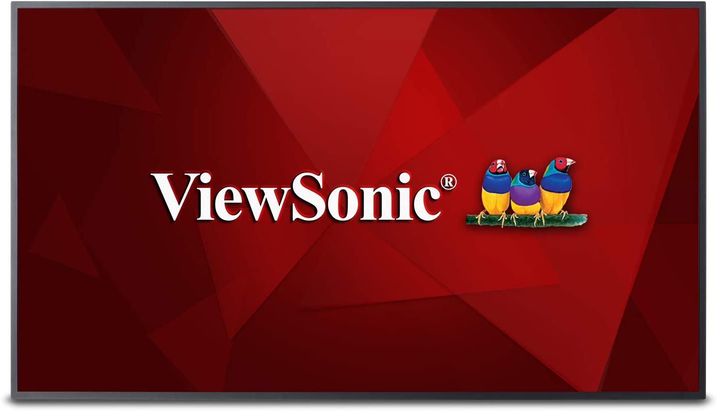 B07HWWMXFQ ViewSonic CDE5010 50 Inch 4K UHD Commercial LED Display with 350-nit Brightness Wide Viewing Angles Ethernet LAN Built-in Media Player HDMI DVI 613jpGY2BSWL.SL1500_