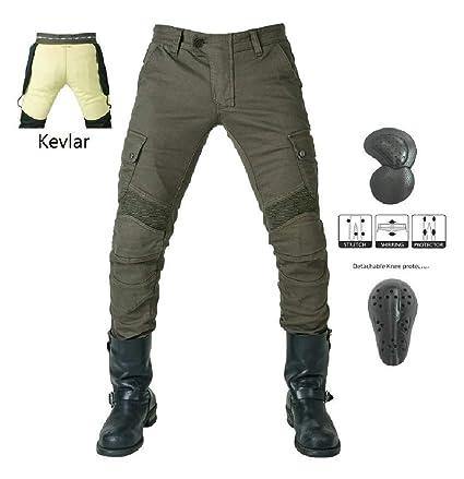 Vaqueros de moto para hombres - Kelvar - Protección Aramid ...