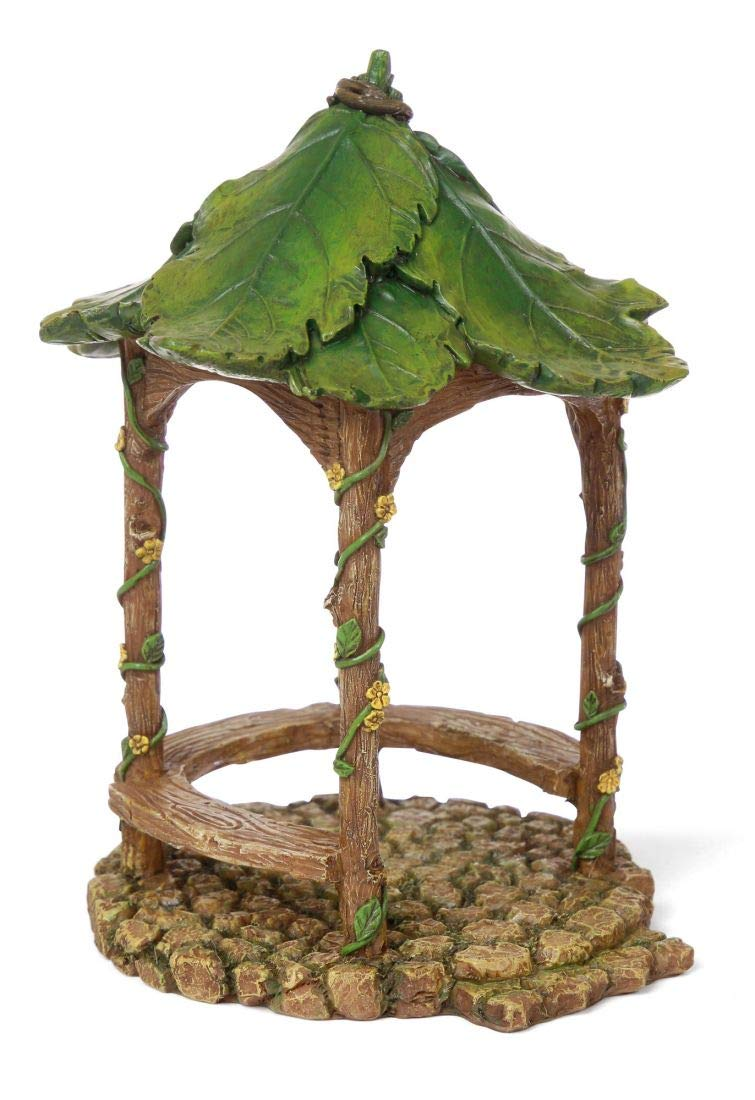 "Miniature Fairy Garden ""Forest Gazebo"" Mg280"