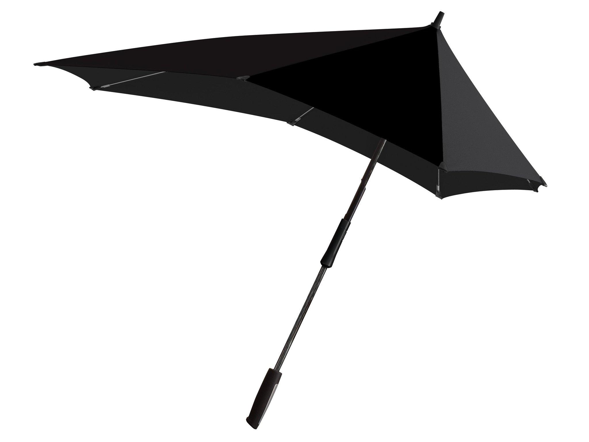 Senz Umbrellas XXL, Pure Black, One Size