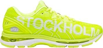 ASICS Gel-Nimbus 20 Stockholm - Zapatillas de Running para Hombre, Color Amarillo: Amazon.es: Zapatos y complementos