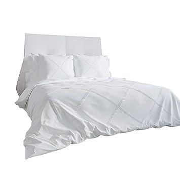 Heckett Lane Bettwäsche Perkal Weiß Größe 135x200 Cm 80x80 Cm
