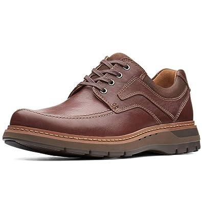 bc1bbd94284e1 Clarks Men's Un Ramble Lace Mahogany Leather Boat Shoes-8.5 UK/India (42.5