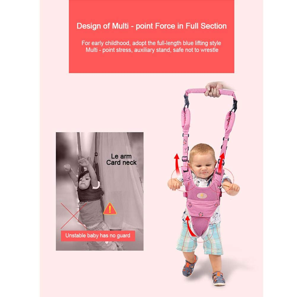 Azul-Yan Toddler Walker Baby Harness Prevention Safe Walker Walking Harness Baby Walker For 7-24 Months Baby Girl & Baby Boys,4 in 1 Functional Safety Walking Harness Walker e8f822