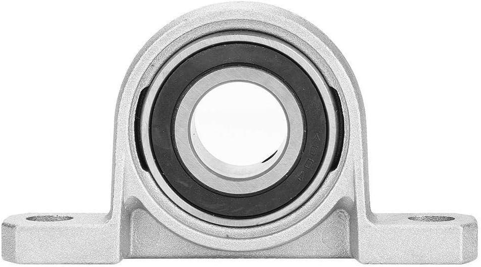 SAEC Roulement Bloc Bloc doreiller Roulements KP004 al/ésage 20 mm Roulements de Bloc doreiller KSTE Roulement Bloc Bride Bore Auto Auto Adjust Support Center Mounted