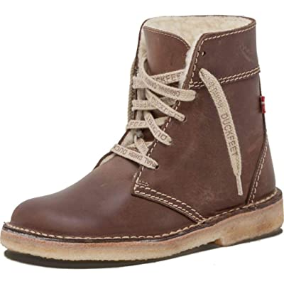 Duckfeet Odense Lace-Up with Wool Lining Unisex Boots | Leather | Boots