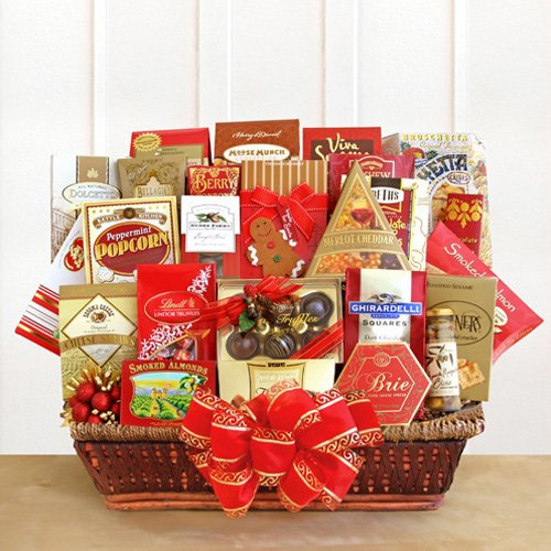 The Executive Selection Deluxe Christmas Gift Basket