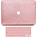"""B BELK MacBook Air 13"""" Case,2 In 1 Bling Crystal Smooth Ultra-Slim Light Weight PC Hard Case With Keyboard Cover For MacBook Air 13.3 Inch(A1369/A1466)"""