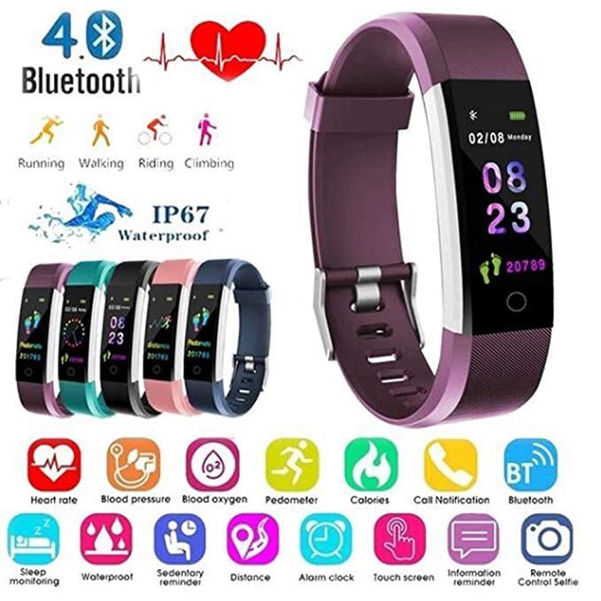 Amazon.com: Studyset Smartwatch Color Screen Smart Watch ...