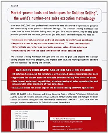Amazon.com: The Solution Selling Fieldbook: Practical Tools ...