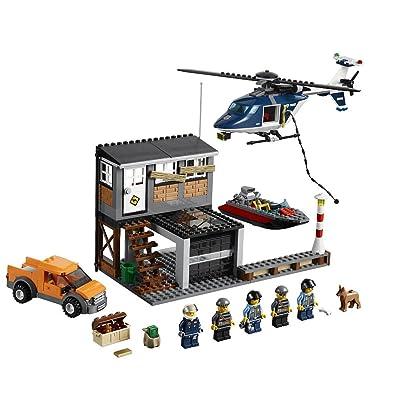 LEGO City Set #60009 Helicopter Arrest: Toys & Games