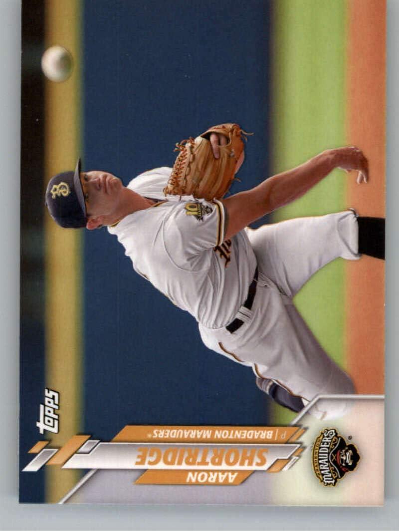 2020 Topps Pro Debut Baseball #PD-41 Aaron Shortridge Bradenton Marauders Official MiLB Minor League Trading Card