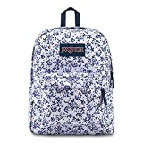 JanSport Backpack Superbreak Classics - WHITE FIELD FLORAL Deal (Small Image)