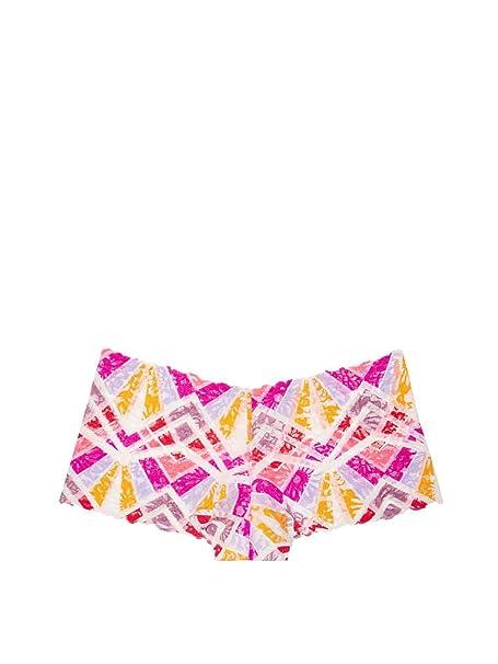 e4ebb826838d7 Image Unavailable. Image not available for. Color  Victoria s Secret Pink  Wildflower Lace Boyshort