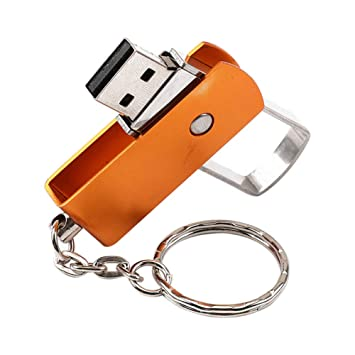 jingyuu Flip USB 2.0 Flash Drive Metal diseño Llavero Mini ...