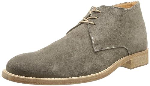 Florsheim Ruiz 51008-20 - Zapatos de ante para hombre, color gris, talla 41