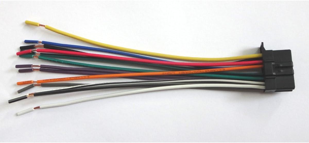 [SCHEMATICS_48DE]  Amazon.com: Yihao for Pioneer Wire Harness Deh-12E Deh-22Ub Deh-2200Ub Deh-3200Ub  Deh-P4200Ub: Automotive | Wiring Diagram For A Pioneer Deh P4200ub |  | Amazon.com