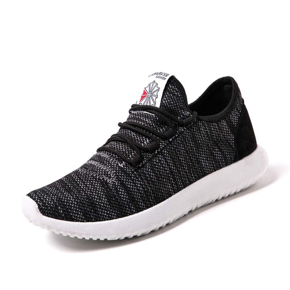 ZHRUI Laufschuhe für Herren Atmungsaktives Mesh Leichtgewicht Sommer Outdoor Sports Schuhe (Farbe   Schwarz, Größe   8=42 EU)