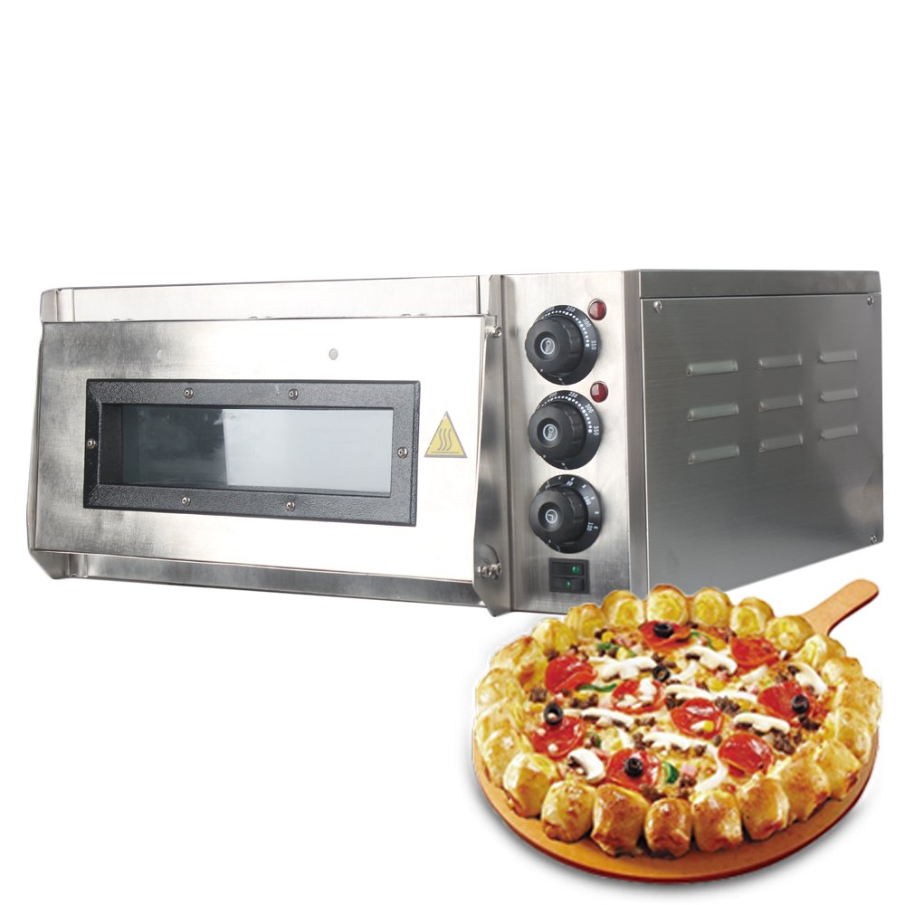 2200V Stainless Steel Electric Pizza Oven Cake Kitchen Baking Machine Processorroasted chicken Pizza Cooker