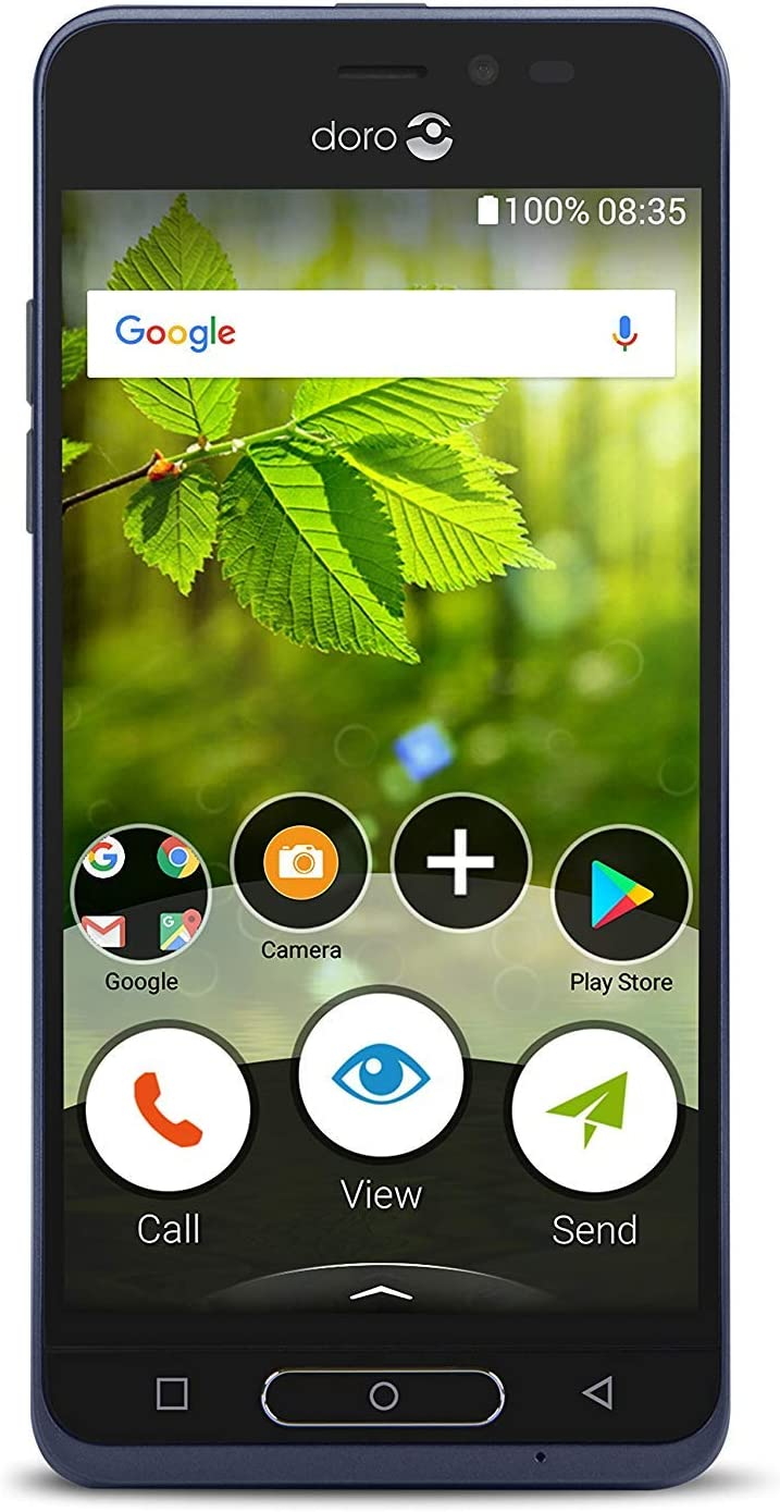 Doro 8035 Unlocked 5 MP Camera Smartphone for Seniors with 5