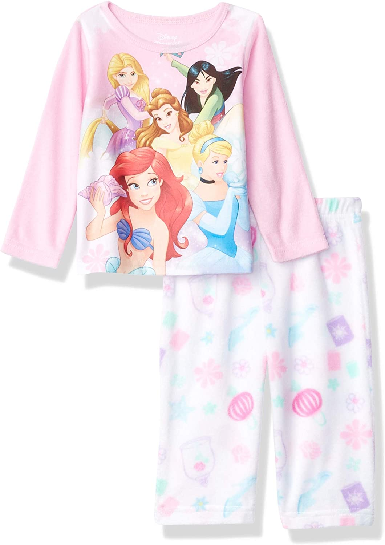 New Disney Store Princess Pajama Set Girls PJ/'s 6,7,8,10 Pink