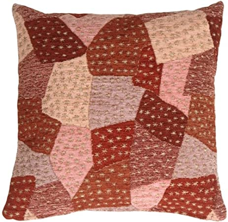 Pillow Decor - Patches of Stars in Purples Accent Pillow
